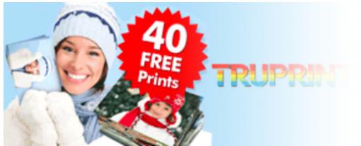 TRUPRINT : 40 free prints