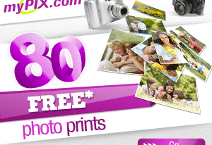 MYPIX : Sign up and get 80 free prints !